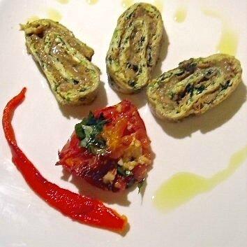 roulé courgettes/aubergines