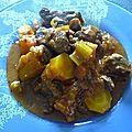 Mijote de boeuf aux legumes