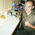 Jénorme a un bon truc à bouffer, service militaire, Besançon (25)