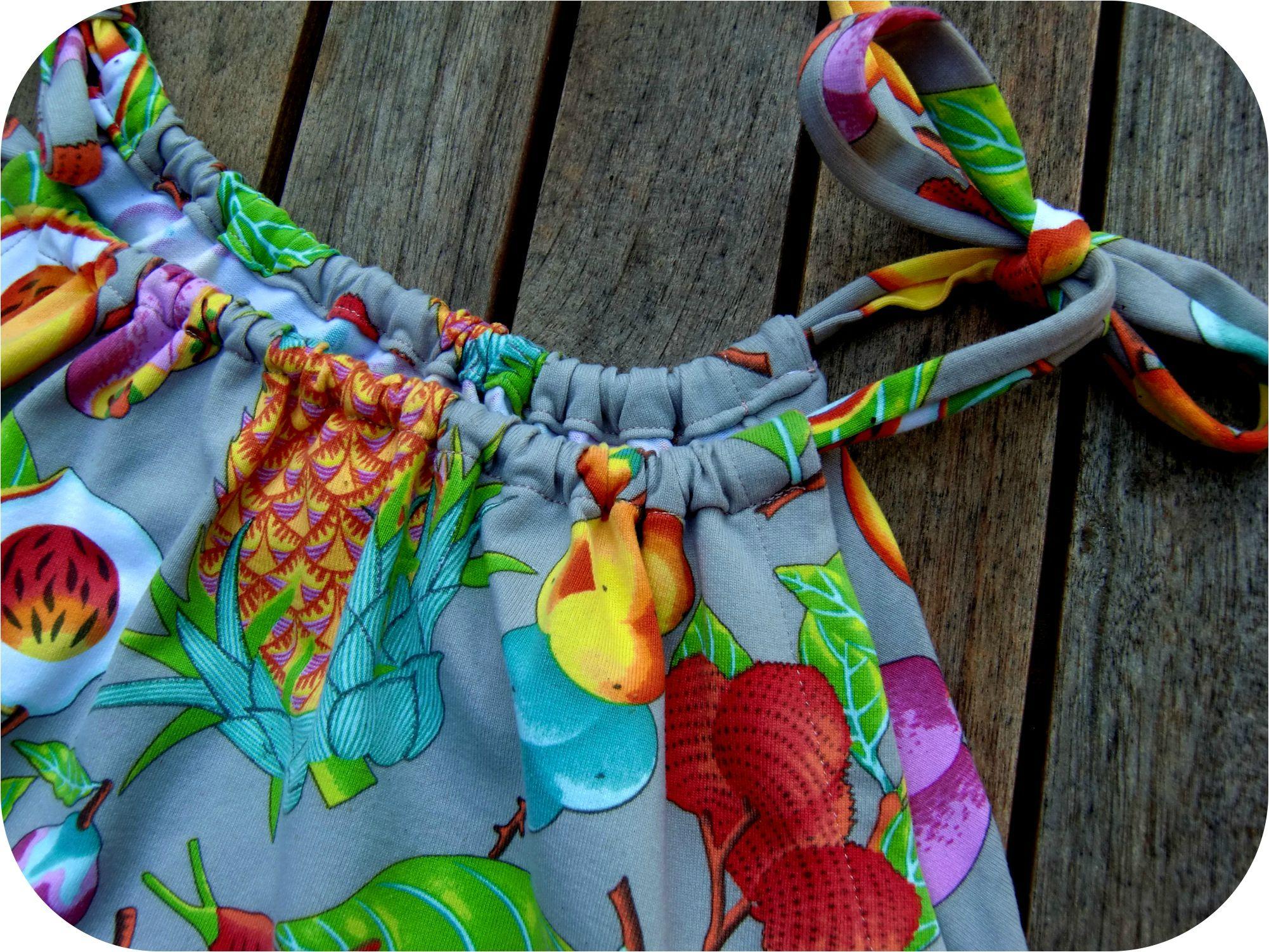 Bien connu Robe de plage pour prolonger l'été - Je couds Citronille HW38
