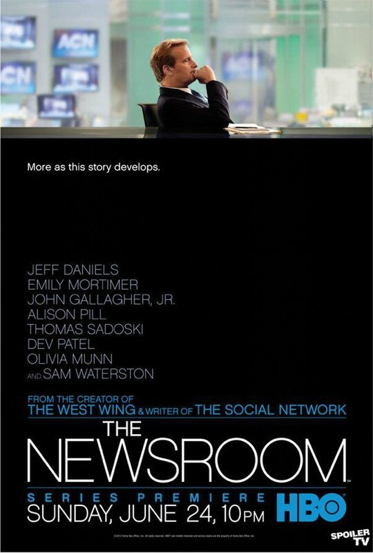 The Newsroom Season 1 poster