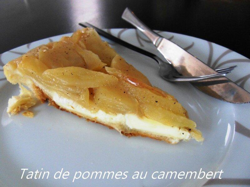 Tatin de pommes au camembert1