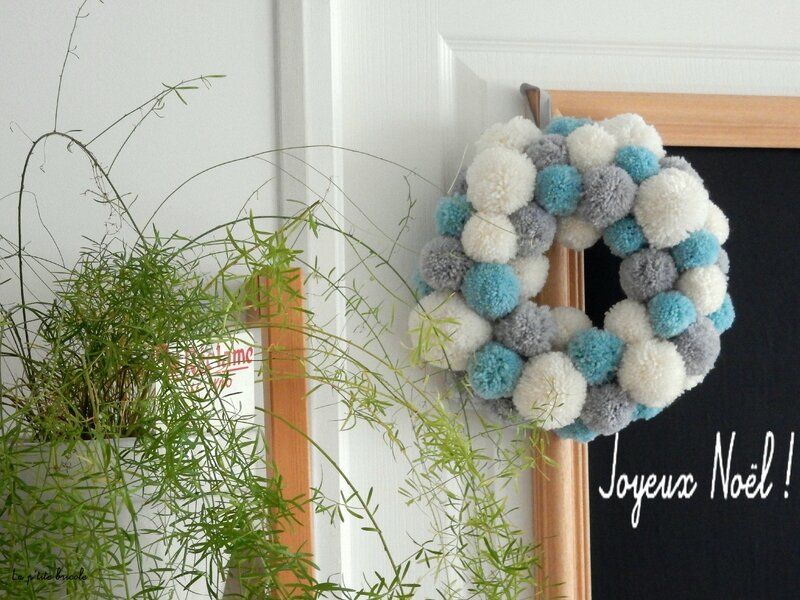 Couronne pompons 4
