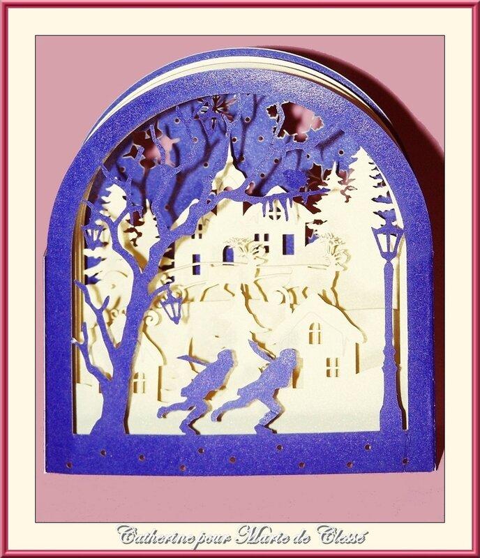 Échange Chez Amélie (Carte de Vœux ) Catherine pour Marie de Clessé 1