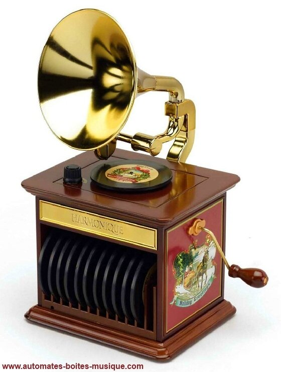 Phonographe Mr Christmas