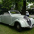 PEUGEOT 402 Eclipse coupé transformable 1937 Mulhouse (1)