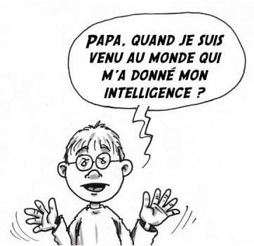 Papa et l'intelligence