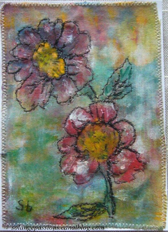 Fleurs stylisées 3-001