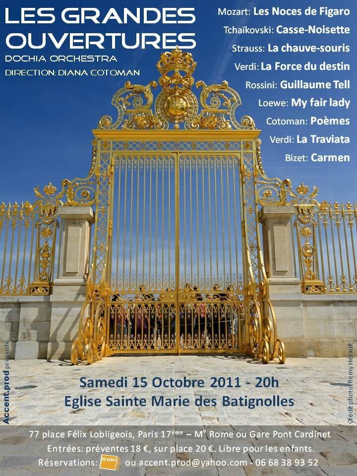 Concert 15 octobre