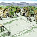 Les habitations traditionnelles des osages