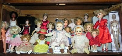 joyeux noël chez les poupées