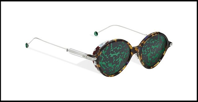 dior umbrage lunettes solaires vert