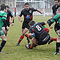 2011-2012, match contre Guret, 4 mars
