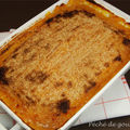 Hachis parmentier de queue de boeuf, mousseline de patates douces d'aprs Anne Sophie Pic
