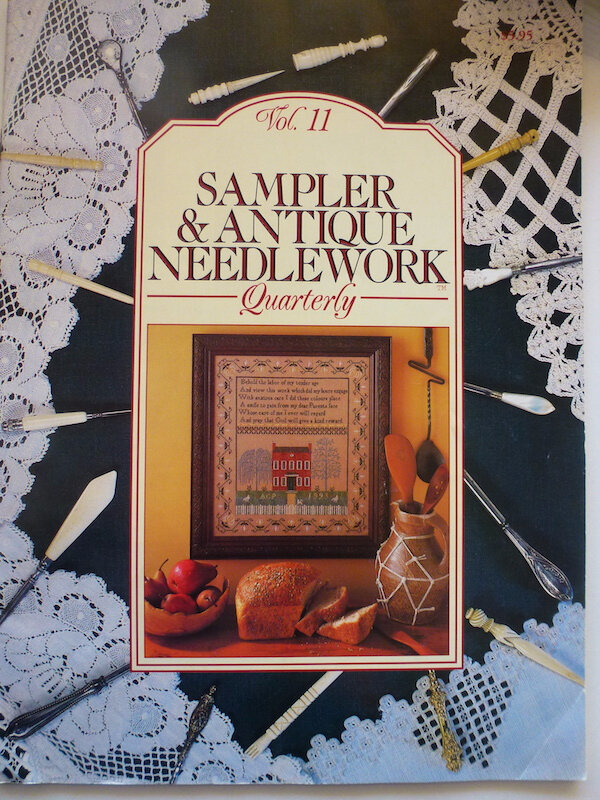 SANQ SAMPLER & ANTIQUE NEEDLEWORK QUATERLY VOL 11