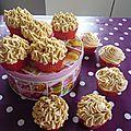 Cup cakes au caramel au beurre salé