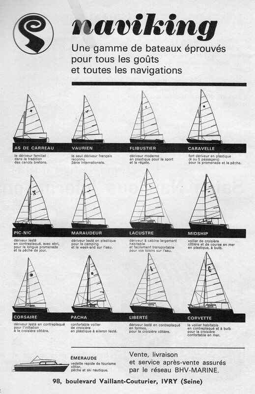 maraudeur 1961 naviking+