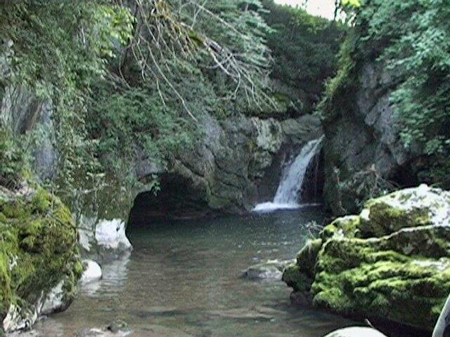 Balme - cascade