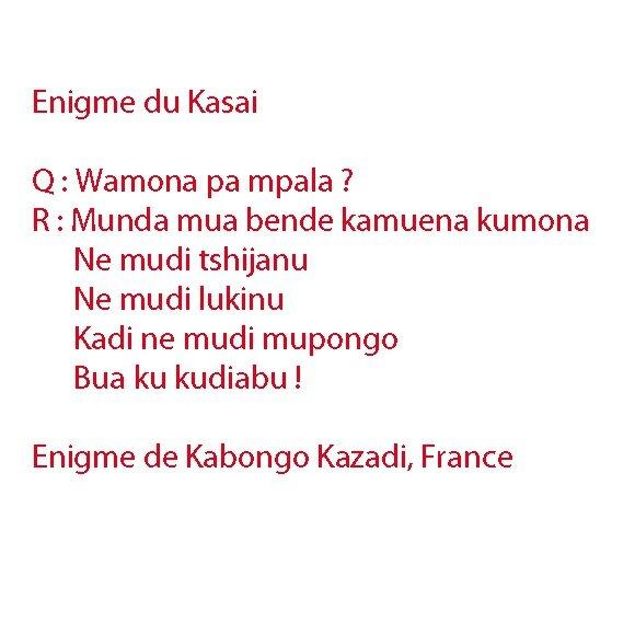 Enigme du Kasai8