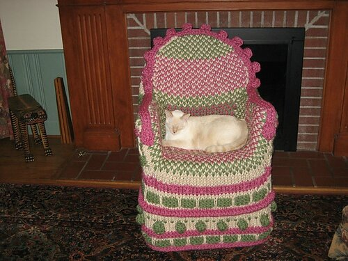 knitting chair 10