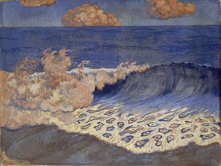 Georges_Lacombe__Marine_bleue_effet_de_vague__vers_1893