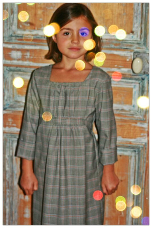 anna robe d'écolière