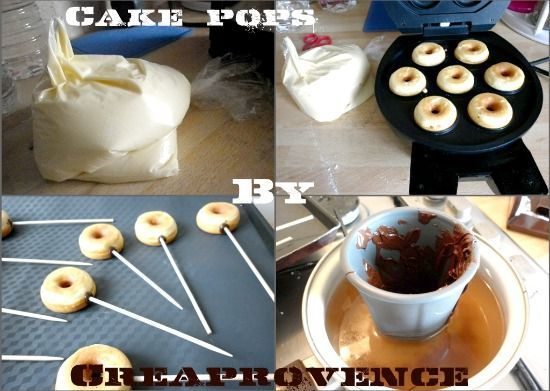 cake pops new collage