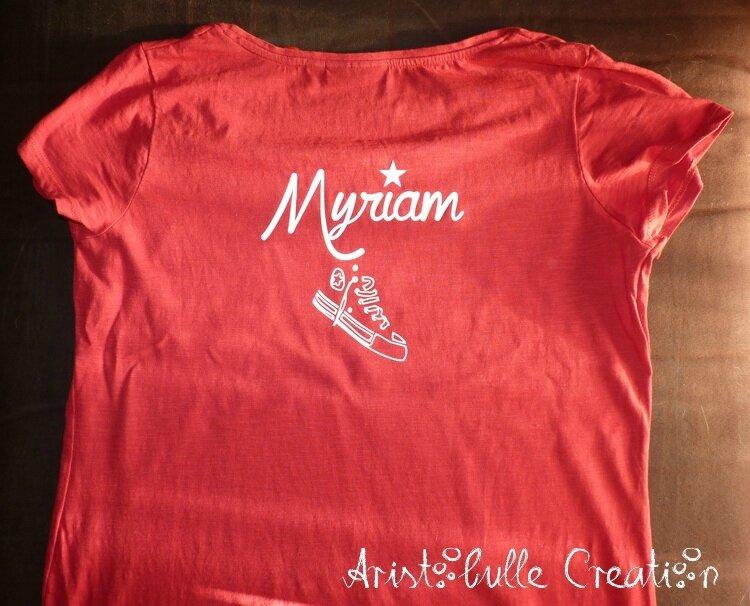 T-shirt nounou - dos