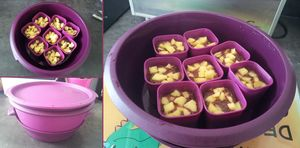 gateau pomme chocolat micro vap