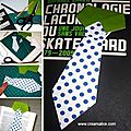 ✩★✩ marque-pages cravate / father's day tie bookmark✩★✩