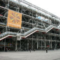 Renzo Piano et Richard Rogers ''Centre pompidou'' Paris, 1977