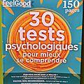 Illustrations pour magazine feel good- tests psychologiques