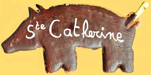 Cochon pain d'épice Sainte-Catherine