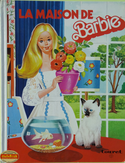 livre album la maison de barbie n 1 1977 mulubrok brocante en ligne. Black Bedroom Furniture Sets. Home Design Ideas