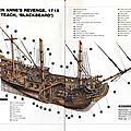 Le queen anne's revenge, le bateau de barbe noir -l'ex-frégate la concorde construit en 1710