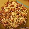 Spaghettis rigolos