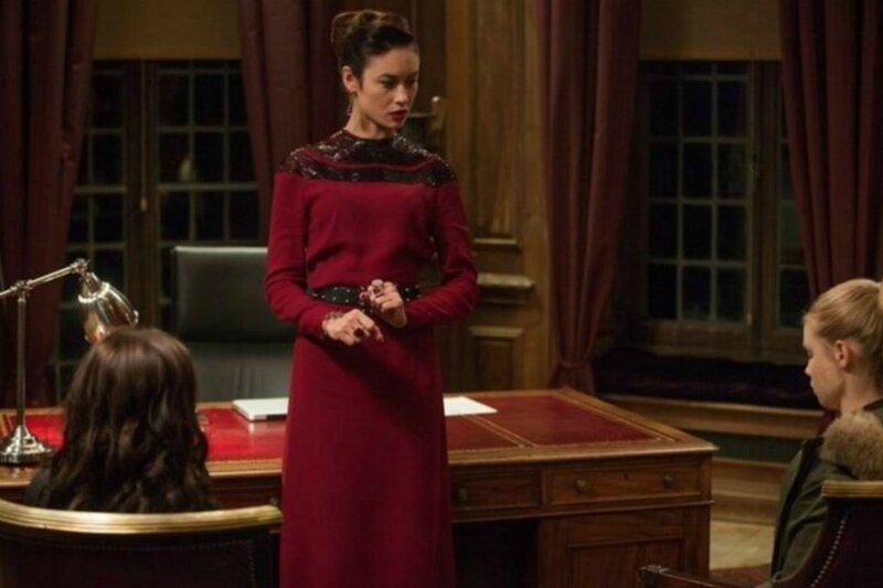 Kirova, Rosa ans Lissa Vampire Academy movie