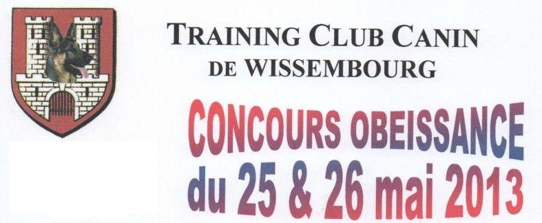 Concours Obéissance du 25 & 26 Mai - Training Club Canin