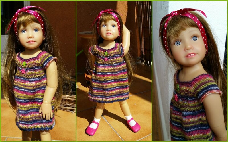 Océana et sa nouvelle robe 2
