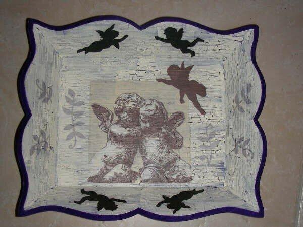 Plateau violet anges