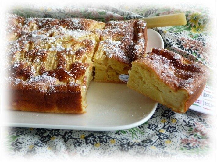 gâteau léger pommes3
