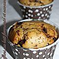 Muffins au lait fermenté et caramel