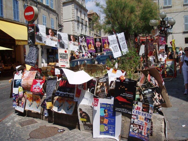 Le Festival OFF (Avignon, juillet 2010)