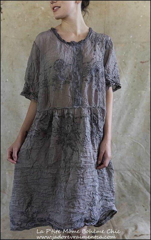 Hadie-Mae-Brown-Dress 414 – Tarnished Silver