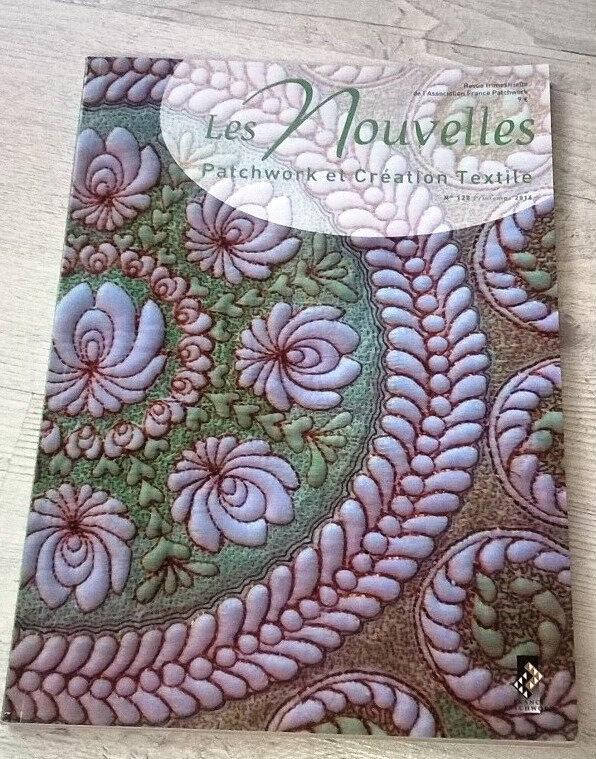 Revue : Les NOUVELLES, Patchwork et Création Textile