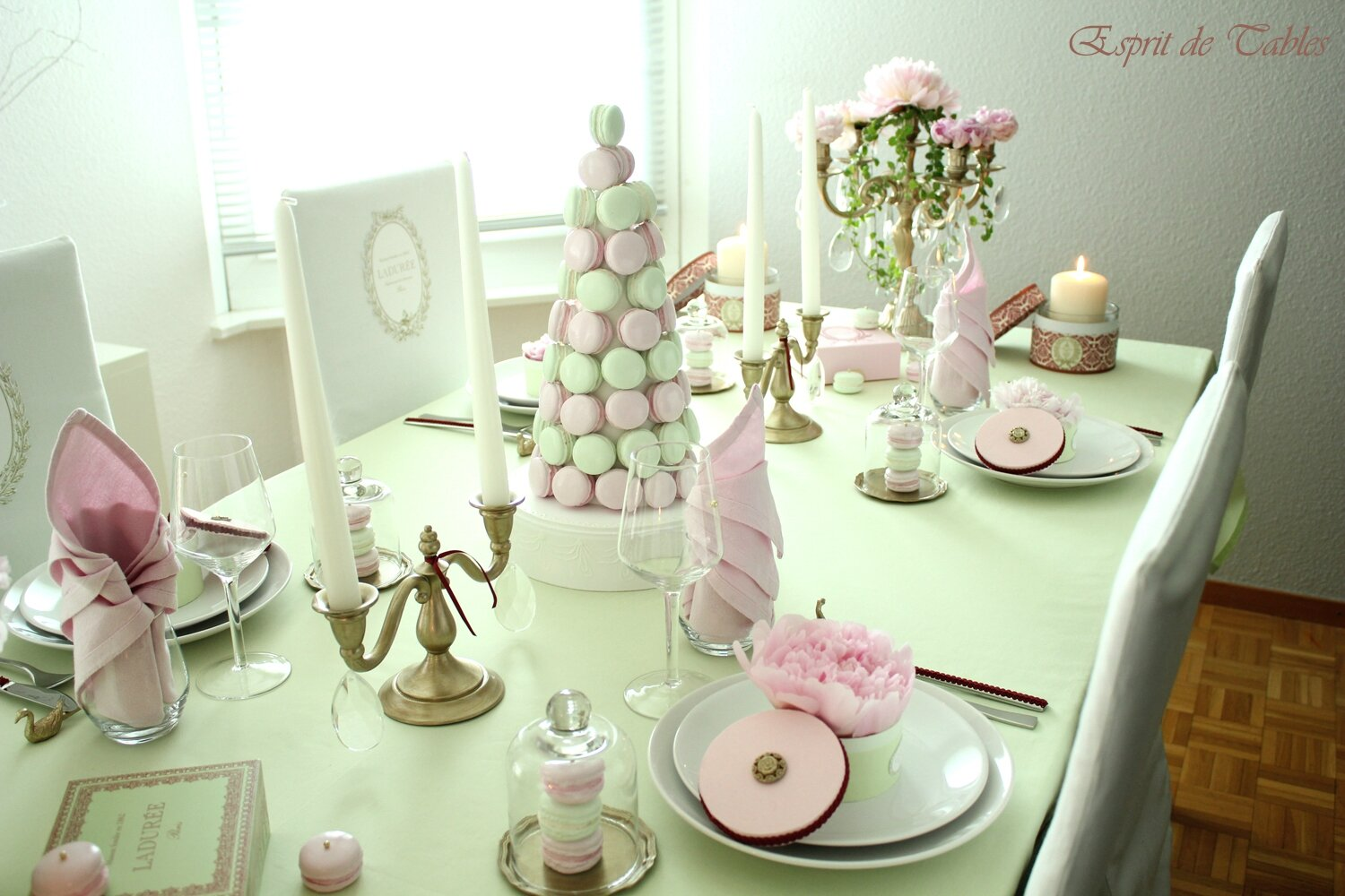 Table Ladurée