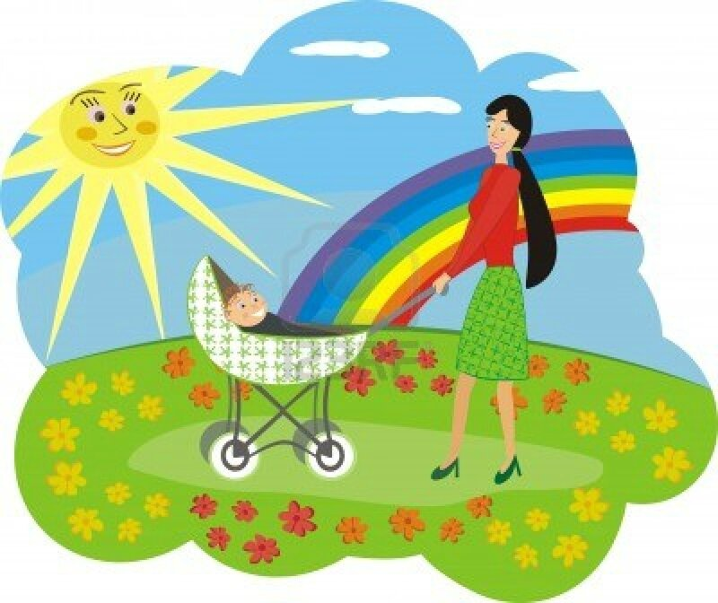 5938376-happy-mum-with-the-child-walks-on-a-flower-glade