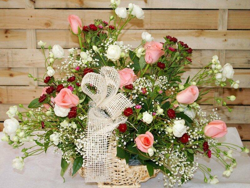 bouquet fleur noeud