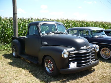 chevrolet 3100 pick up 1953 vroom vroom. Black Bedroom Furniture Sets. Home Design Ideas