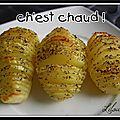 Hasselbackpotatis, ou pomme de terre  la sudoise...